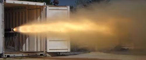 CTI O25,000 Static Test Fire